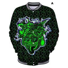 e62355d2 Irish St. Patrick's Day Teenage Baseball Jackets Uniform Boys' Varsity  Jackets Baseball Jackets,