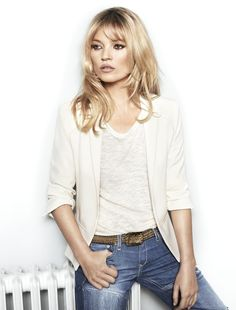 KATE MOSS FOR MANGO Love the haircut