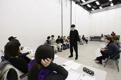 【バンタンデザイン研究所】スタイリスト学科 基礎科(1年生)が1年間の集大成『修了展』に向けてモデルオーディションを実施!