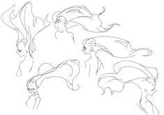 Art by Mira Ongchua* Drawing Hair Tutorial, Manga Drawing Tutorials, Drawing Techniques, Art Tutorials, Body Reference Drawing, Art Reference Poses, Poses References, Art Poses, Drawing Base