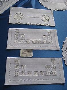 Cilaos - (page 6) - Edition De Saxe, Art Postal, Drawn Thread, Decoration, Hardanger, Vintage Embroidery, Embroidery, Japanese Embroidery, Decor