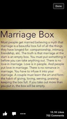 All couples should read this!