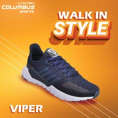 You can't buy happiness, but you can buy the comfortable shoes, and that's the kind of same thing. Get your happiness at the nearest leading shoe stores. Lightweight Running Shoes, Running Shoes For Men, Sports Footwear, Sports Shoes, Shoe Stores, Shoe Manufacturers, Viper, Comfortable Shoes, Shoes Online