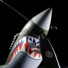 The fabulous Curtiss P-40N Kittyhawk from the Flying Tigers