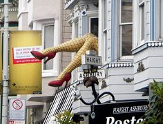 Store front SF Haight Ashbury
