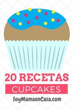 20 recetas de cupcakes