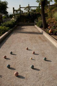 Traditional Landscape by Design Focus Int'l Landscape Architecture & Build - Bocce ball court