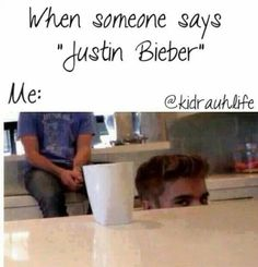 Yes haha! And i also feel  like chopping someone's head off when I hear them insulting him. #justinbieber