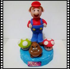 Mario bross en pasta flexible