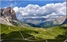il Sassolungo e la Valgardena