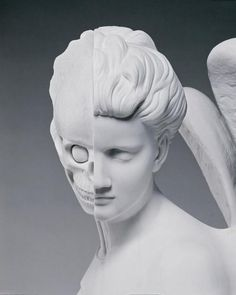 Damien Hirst    The Anatomy of an Angel, 2008   carrara marble 1870 x 980 x 785 mm
