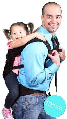 8. Mo+m Cotton Baby Carrier