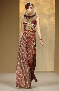 Rifat Ozbek is one of the well known Turkish designers. I like his work.