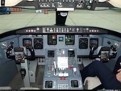 Cessna Citation Excel Cockpit Instrument Panel Ce 560 Jet