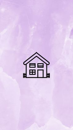 ✔ Story Highlights Cover Home Purple Highlights, Story Highlights, Hight Light, Story Instagram, Instagram Ideas, Instagram Background, Insta Icon, Purple Home, Home Icon