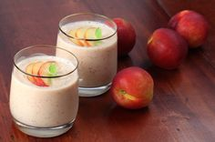 Lekkere en vooral gezonde nectarine smoothie - Jouw Gezonde Recepten
