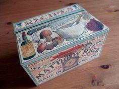 VINTAGE MATTHEW RICE RECIPES BOX & CARDS Emma Bridgewater noelhumphrey on eBay.co.uk