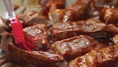 Costelinha suína ao molho Barbecue- MSN Estilo