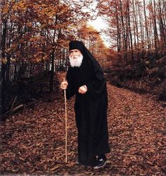 Elder Paisios the Athonite - his birth name was Arsenios Eznepidis - a Greek from Cappadokia Asia Minor