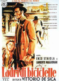 Director: Vittorio de Sica Reparto: Lamberto Maggiorani Enzo Staiola Lianella Carell Gino Saltamerenda Vittorio Antonucci 1948. Italia