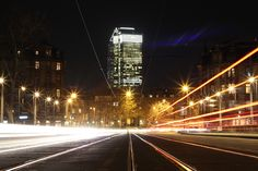 Photography - Frankfurt am Main - long exposure - city lights