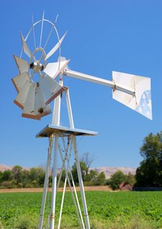 How to Build a Wind Mill Water Pump