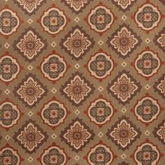 Pattern 02129 in Garden Spice from the Jaclyn Smith Home Color - Volume II collection.