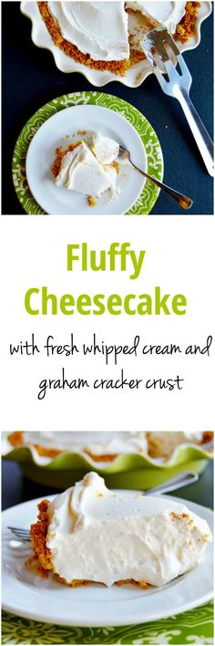 Fluffy Cheesecake: the QUICKEST and MOST DELICIOUS dessert! With 2 bowls, 7 ingredients, and less than 20 minutes you can have dessert ready to go. Perfect for parties and events. This is definitely a recipe to have in your repertoire. | www.TheHungryTr
