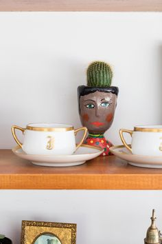 Guatemalan pieces, like this hand-printed ceramic vessel, are peppered throughout the home.