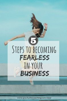5 Steps to Being FEARLESS in Your Business! Learn how to increase the growth of your business by discovering how fear has limited you and how to push past it. Shift your Mindset Online Entrepreneur, Business Entrepreneur, Business Marketing, Business Tips, Business Women, Online Business, Business Coaching, Life Coaching, Marketing Ideas
