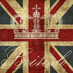 Crown the flag....