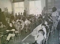 Els Reis Mags a l'escola al 1985