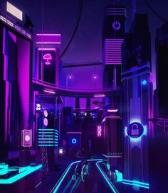 New project with an illustration out of the comfort zone. Neon retro-futuristic illustration about security in data servers. Cyberpunk Aesthetic, Cyberpunk City, Futuristic City, Neon Aesthetic, New Retro Wave, Retro Waves, Tumblr Neon, Paradis Sombre, We Will Rock You