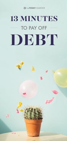A mountain of debt is perhaps the most difficult mountain to climb. And procrastination never works in our favor. That's why we've created a plan -- to help you make a plan to pay it all off. Give your finances 13 minutes of loving. That's all you need.
