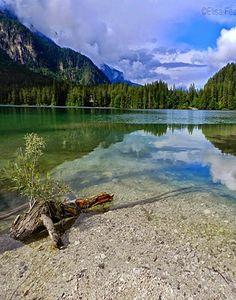 Lake tovel, Italy