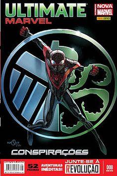 ☛ Ultimate Marvel Totalmente Nova Marvel 08 WISH KID COMIC SHOP FRETE GRÁTIS PARA TODO BRASIL!  www.wishkid.com.br