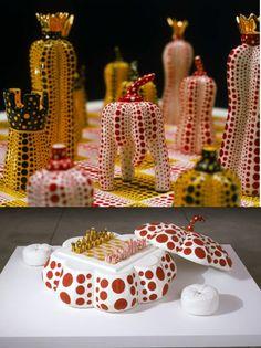 Yayoi Kusama Chess Set