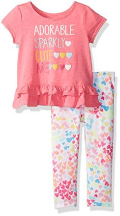 The Children's Place Baby Girls' Sweet Li'l Floral Coveralls, Neon Berry, Months: Extra bright and extra glittery styles will always make her day Girl Outfits, Cute Outfits, Baby Supplies, Toddler Shoes, Hot Pants, Baby Month By Month, Future Baby, Outfit Sets, Baby Girls