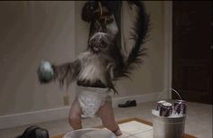 Mountain Dew's Puppy-Monkey-Baby Super Bowl commercial combines three awesome things into one terrifying package.