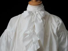 The smallest details make all the difference and as with our collars, variations in height and width of evening bow ties will ensure the perfect period look. Royal Navy Uniform, Male Vampire, Navy Uniforms, 18th Century Fashion, Cravat, Lawn, Collars, Winter Fashion, The Past