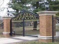House diseños puerta/puerta de hierro forjado maquetas/hierro forjado puerta principal villa de diseño para el hogar y jardín-imagen-Vallado, Enrejado y Puertas-Identificación del producto:60127853070-spanish.alibaba.com