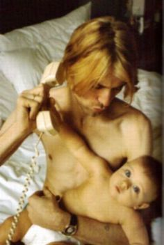 Kurt and Frances Bean