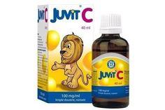 Juvit  C witamina C dla dzieci w płynie jako serum antyoksydacyjne ok. 12 zł