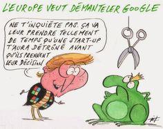 Humour IT: l'Europe veut démanteler Google - Green.SI