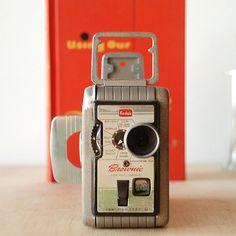 Vintage Camera Kodak Brownie 8mm Movie Camera II - MCM Film Camera. $36.00, via Etsy.