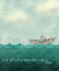 All Who Wander Print