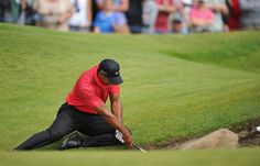 Tiger woods hitting an unusual bunker shot at the British Open. Global Golf Post - July 2012 - Page 2 Rory Mclroy, Ernie Els, Golf Images, Lpga Tour, British Open, Carolina Hurricanes, Golf Player, Sport Icon, Sports Figures