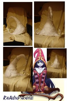 Lulu from League of Legends hat WIP 2 by KamekamePrincess