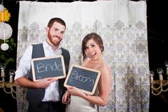 This couple pulled off a dream wedding on college students' budgets!!    yes please, cute and cheap.