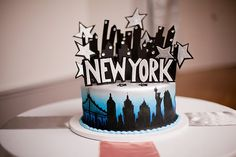 new york cake | Jen & Chris Creed | Glamour & Grace